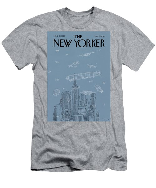 New Yorker October 31st, 1977 Men's T-Shirt (Athletic Fit)