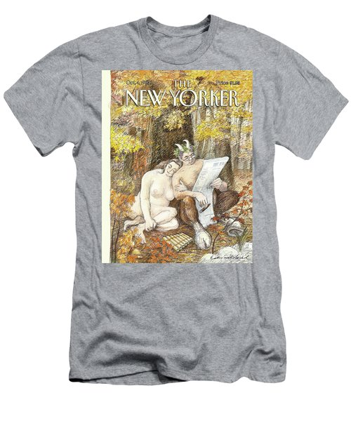 New Yorker October 4th, 1993 Men's T-Shirt (Athletic Fit)