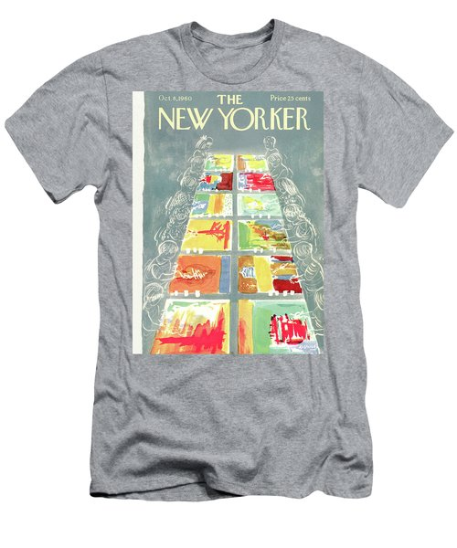 New Yorker October 8th, 1960 Men's T-Shirt (Athletic Fit)