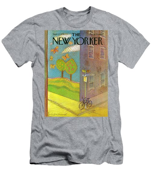 New Yorker September 27th, 1976 Men's T-Shirt (Athletic Fit)