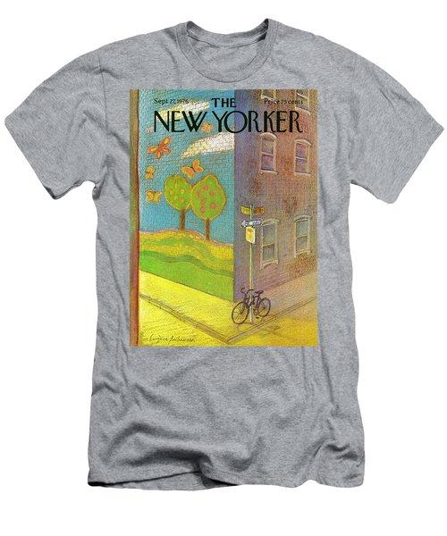 New Yorker September 27th, 1976 Men's T-Shirt (Athletic Fit)