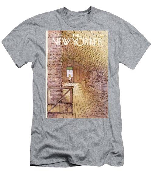 New Yorker September 5th, 1977 Men's T-Shirt (Athletic Fit)