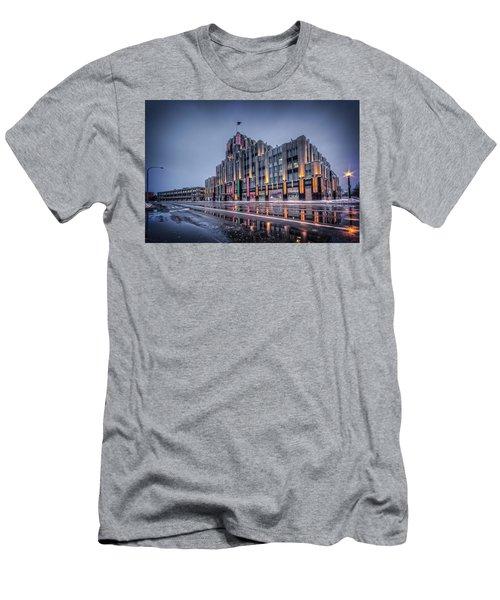 Niagara Mohawk Syracuse Men's T-Shirt (Slim Fit) by Everet Regal