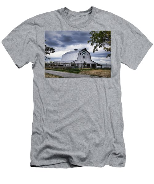 Nine Patch Quilt Barn Men's T-Shirt (Athletic Fit)