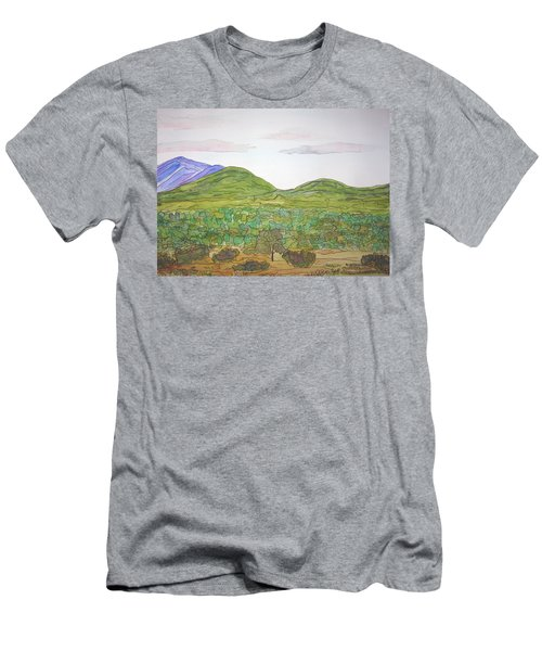 Nm Hills Men's T-Shirt (Athletic Fit)