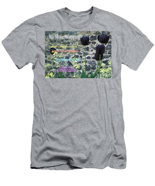 No More Worrying Men's T-Shirt (Athletic Fit)