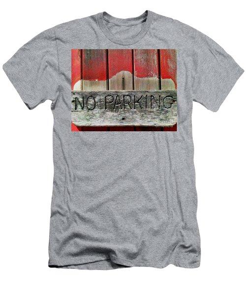 Men's T-Shirt (Slim Fit) featuring the photograph No Parking by James Aiken