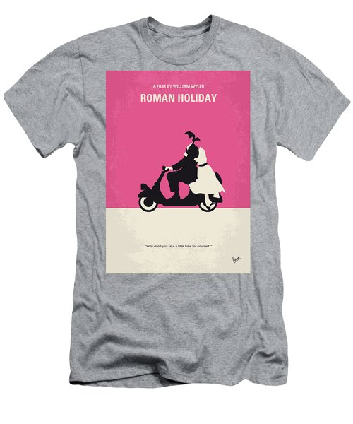 No205 My Roman Holiday Minimal Movie Poster Men's T-Shirt (Athletic Fit)
