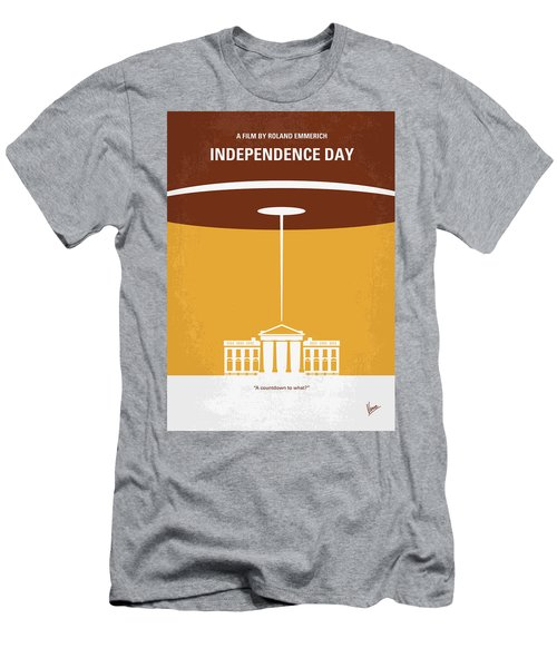 No249 My Independence Day Minimal Movie Poster Men's T-Shirt (Athletic Fit)