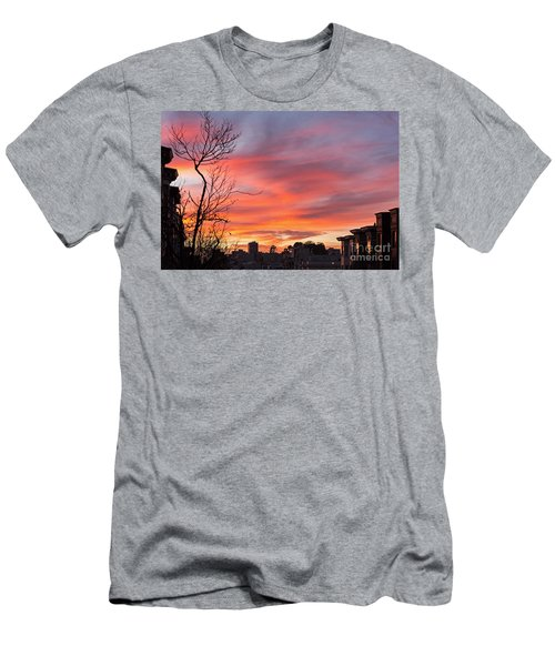 Nob Hill Sunset Men's T-Shirt (Athletic Fit)