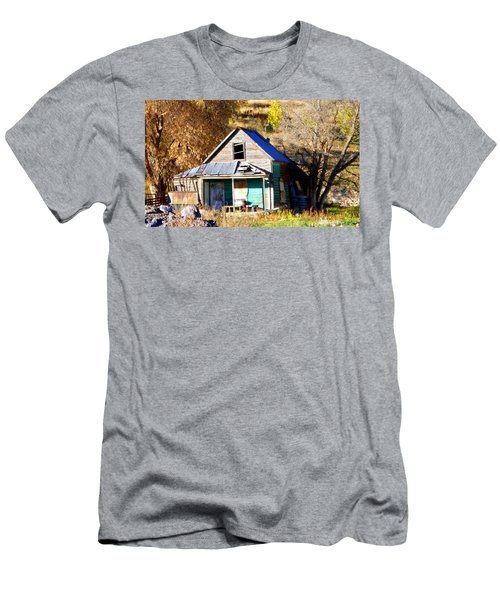 Men's T-Shirt (Slim Fit) featuring the photograph Nobody's Home by Jackie Carpenter
