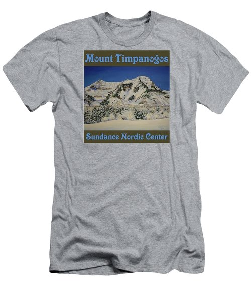 Nordic Timpanogos Poster Men's T-Shirt (Athletic Fit)