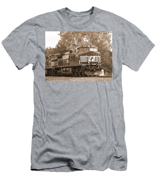 Norfolk Southern Freight Train Men's T-Shirt (Athletic Fit)