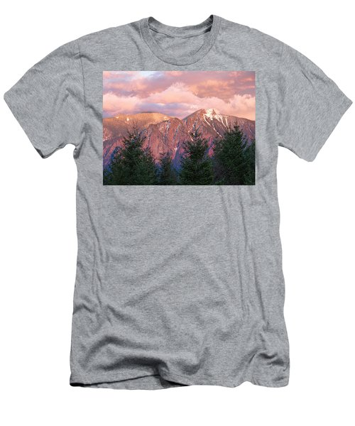 North Bend Washington Sunset 2 Men's T-Shirt (Athletic Fit)