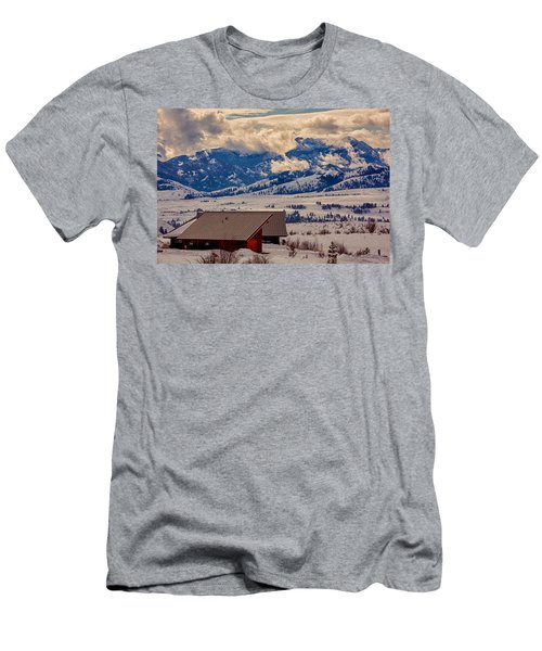 North Cascades Mountain View Men's T-Shirt (Athletic Fit)