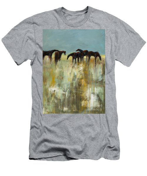 Not A Cloud In The Sky Men's T-Shirt (Slim Fit) by Frances Marino