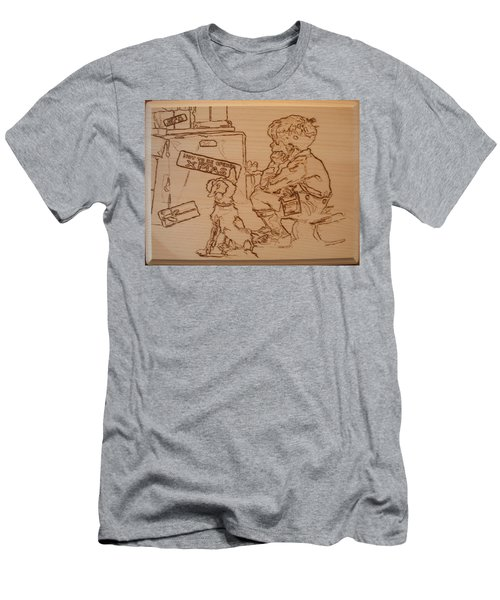 Not To Be Opened Until Christmas Men's T-Shirt (Athletic Fit)