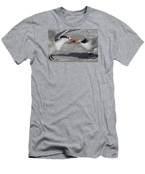 Nothing Says I Love You Like A Fish Men's T-Shirt (Slim Fit) by Meg Rousher
