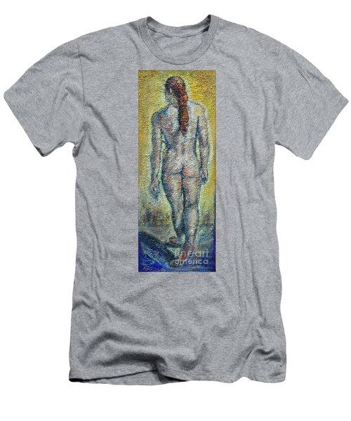 Nude Brunet Men's T-Shirt (Athletic Fit)