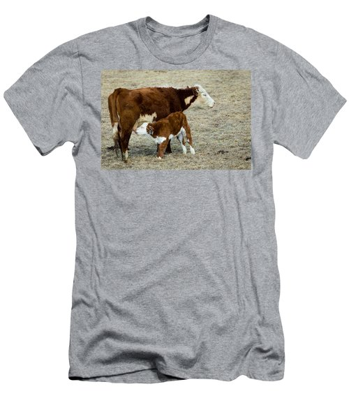 Nursing Calf Men's T-Shirt (Athletic Fit)