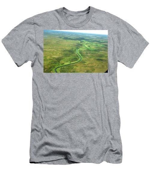 Nushagak River Drainage Basin, Bristol Men's T-Shirt (Athletic Fit)