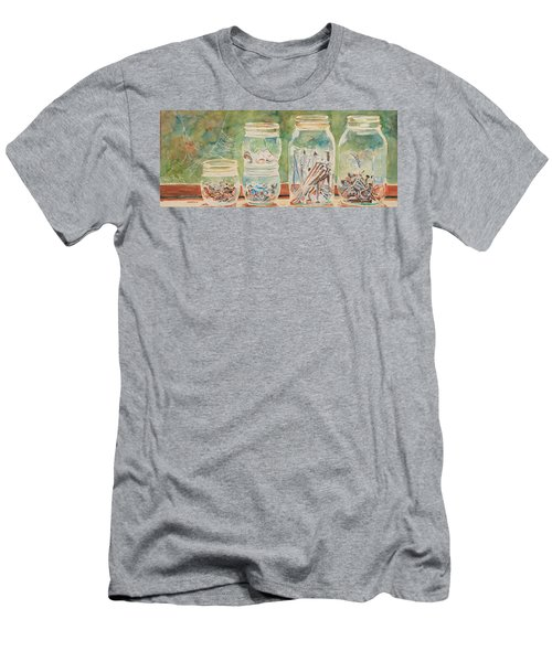 Nuts And Bolts Impression Men's T-Shirt (Athletic Fit)