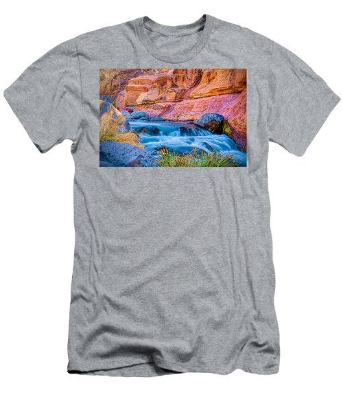 Oak Creek In The Spring Men's T-Shirt (Athletic Fit)