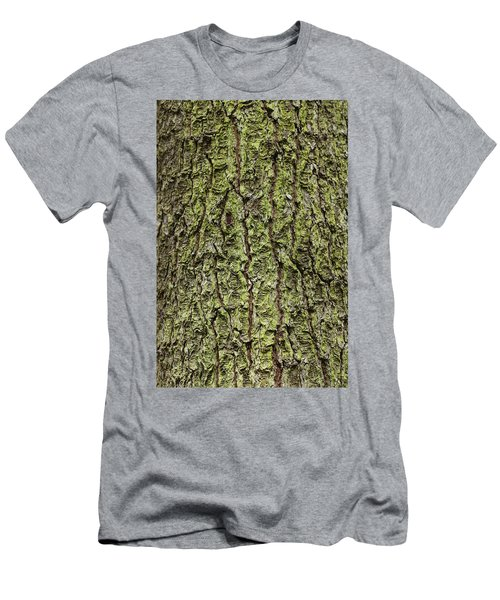 Oak With Lichen Men's T-Shirt (Athletic Fit)
