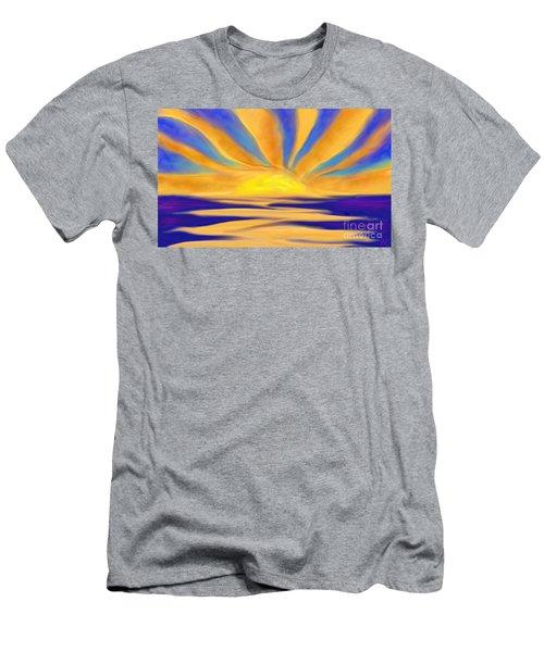 Ocean Sunrise Men's T-Shirt (Athletic Fit)