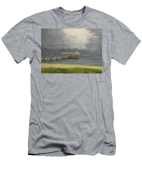 Ocean View Pier Men's T-Shirt (Athletic Fit)
