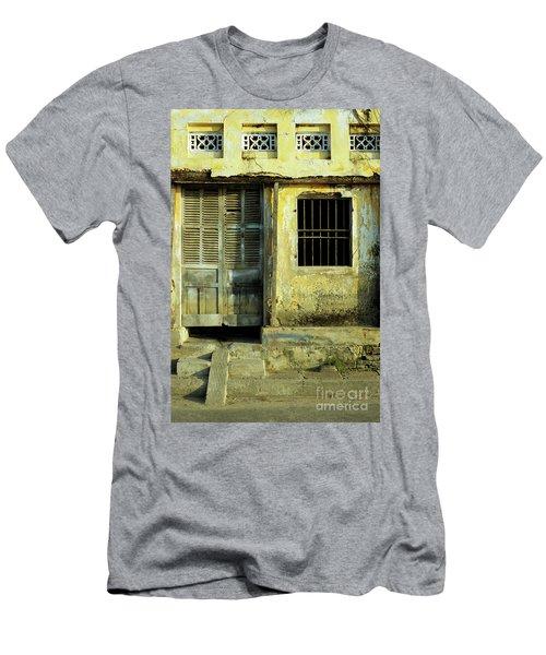 Ochre Wall 03 Men's T-Shirt (Athletic Fit)