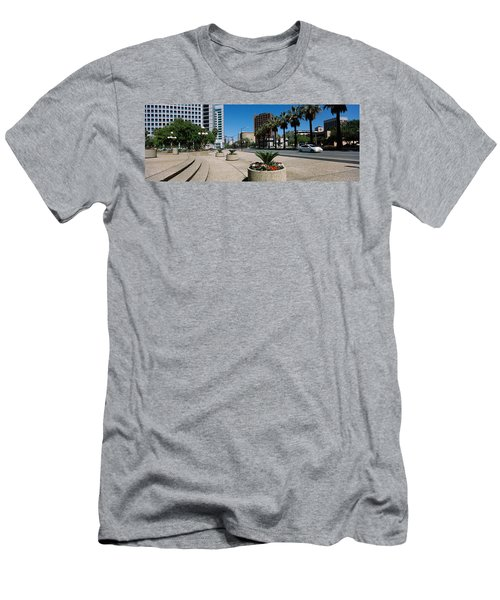 Office Buildings In A City, Downtown Men's T-Shirt (Athletic Fit)