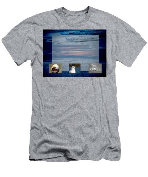 Ogunquit Beach Men's T-Shirt (Athletic Fit)