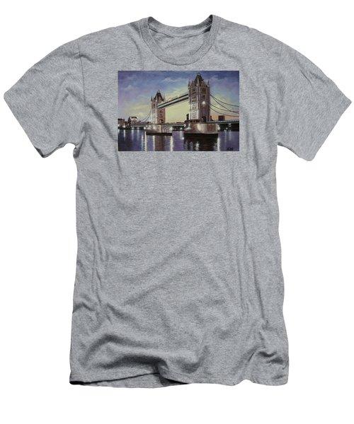 Oil Msc 046 Men's T-Shirt (Slim Fit) by Mario Sergio Calzi