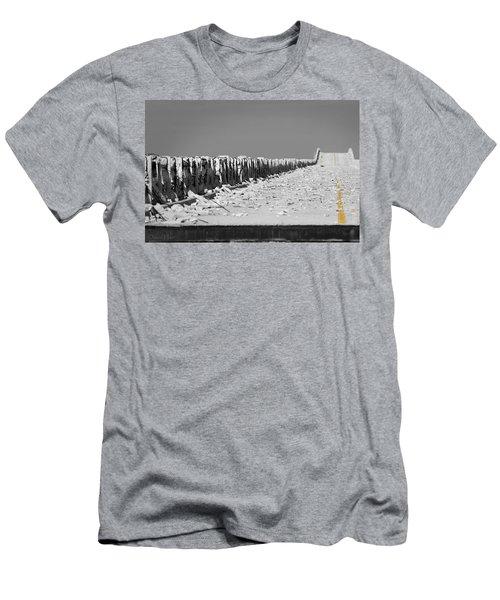 Old Bahia Honda Bridge Men's T-Shirt (Athletic Fit)