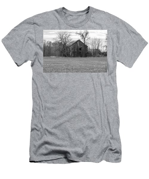 Men's T-Shirt (Athletic Fit) featuring the photograph Old Barn by Charles Kraus