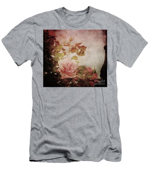 Old Fashion Rose Men's T-Shirt (Athletic Fit)