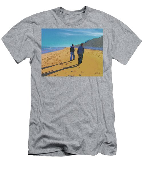 Old Friends Long Shadows Men's T-Shirt (Athletic Fit)