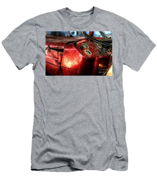Old Glory - Tractor Men's T-Shirt (Athletic Fit)