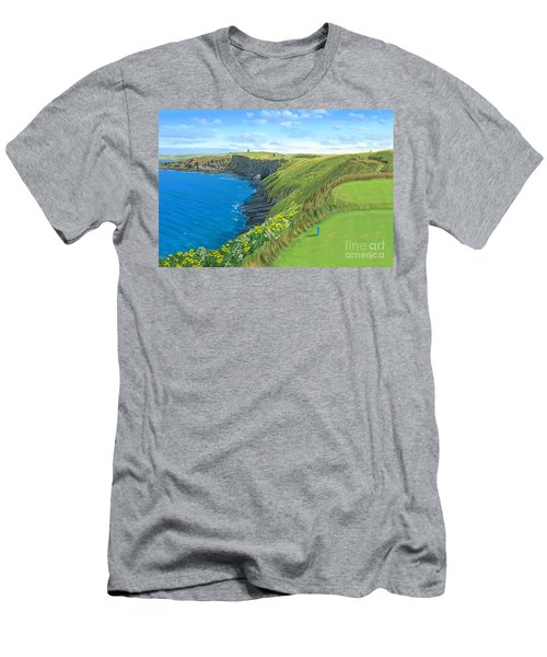 Old Head Golf Club Ireland Men's T-Shirt (Slim Fit)