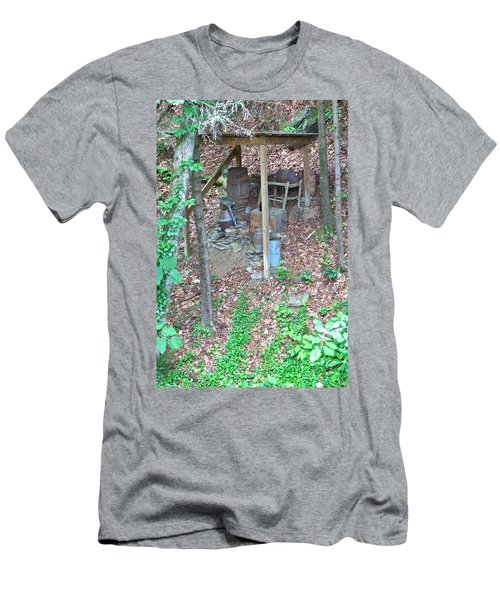 Old Mountain Still Men's T-Shirt (Athletic Fit)
