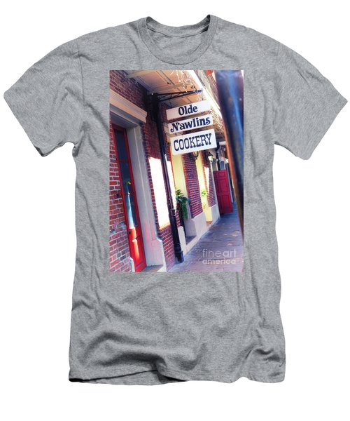Men's T-Shirt (Slim Fit) featuring the photograph Old Nawlins by Erika Weber