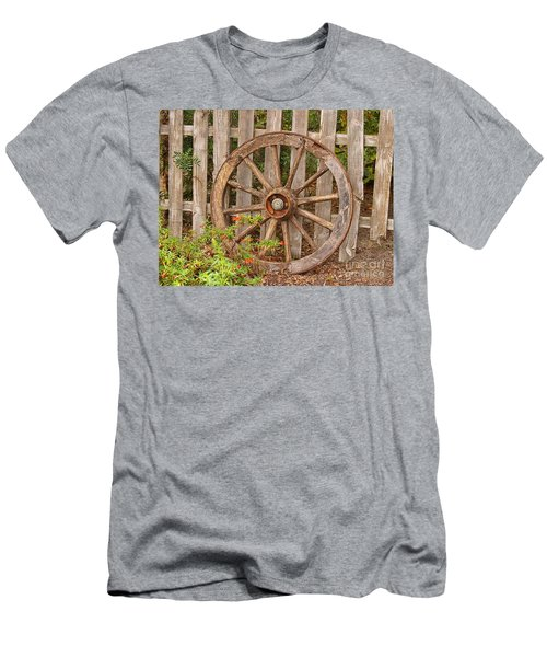 Old Spare Wheel Men's T-Shirt (Athletic Fit)