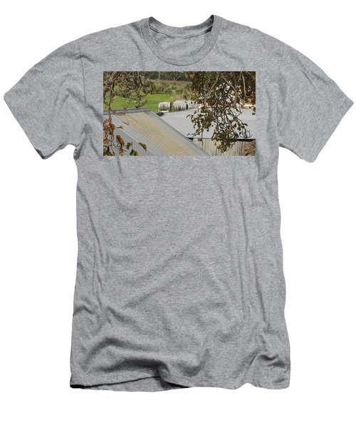 Old Tin Roof  Men's T-Shirt (Athletic Fit)