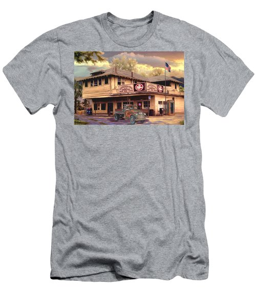 Old Town Irvine Country Store Men's T-Shirt (Slim Fit) by Ron Chambers