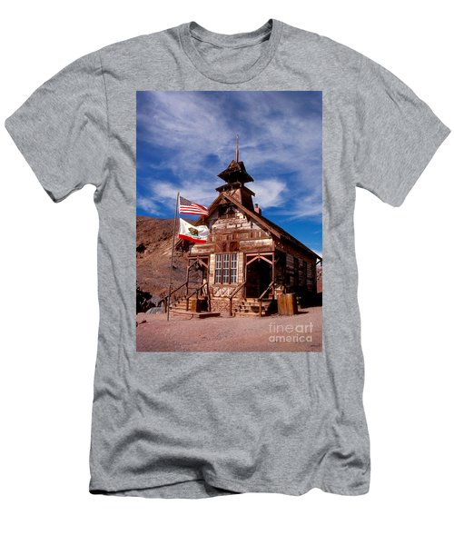 Old West School Days Men's T-Shirt (Athletic Fit)