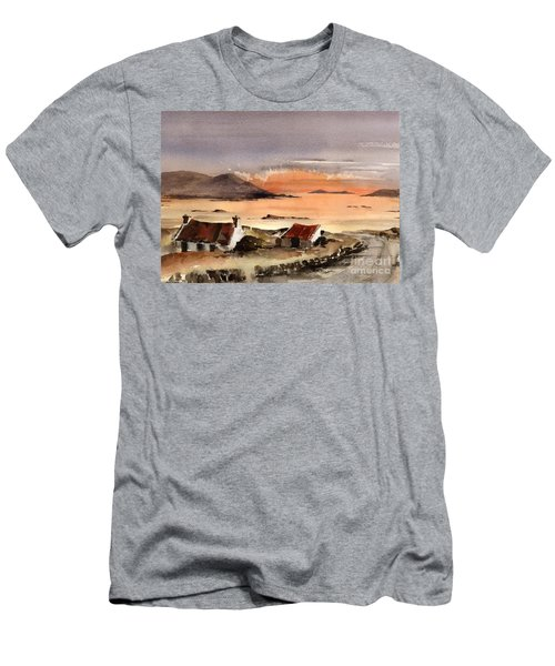 Omey Island Sunset Galway Men's T-Shirt (Athletic Fit)