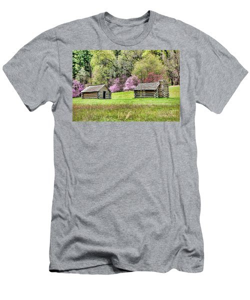 On A Hill At Valley Forge Men's T-Shirt (Athletic Fit)