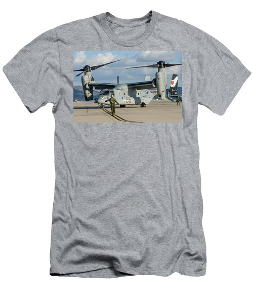 On The Mark Men's T-Shirt (Athletic Fit)