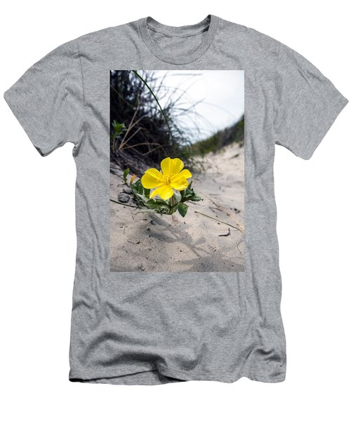 Men's T-Shirt (Slim Fit) featuring the photograph On The Path by Sennie Pierson